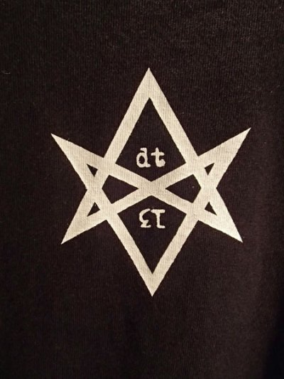 画像2: HEXAGRAM REGULAR T-SHIRT (BK)