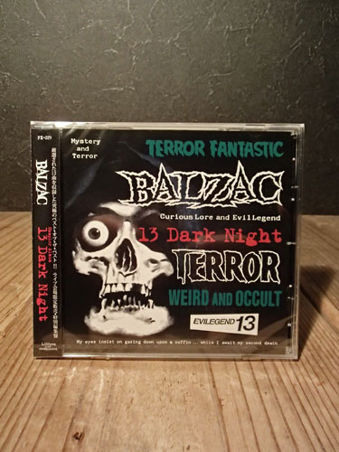 画像1: 13 DARK NIGHT-#4 TERROR JACKET (CD) (1)
