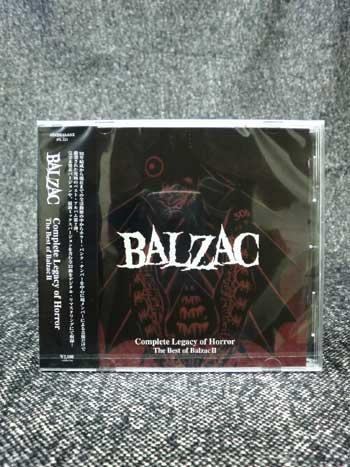 画像1: COMPLETE LEGACY OF HORROR: THE BEST OF BALZAC 2 通常盤 (CD) (1)