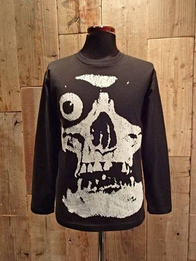 画像1: SKULL / ATOM AGE T-SHIRT (Long Sleeve) (1)