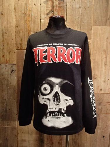 画像1: TERROR T-SHIRT (Long Sleeve)  (1)