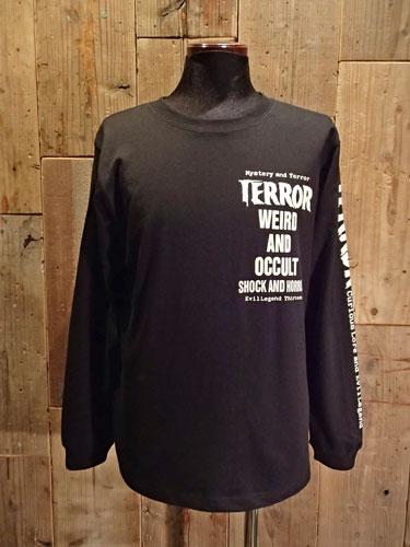 画像1: TERROR WEIRD & OCCULT LONG SLEEVE T-SHIRT (1)