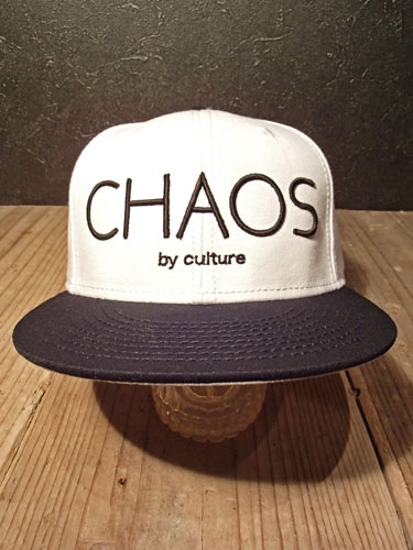 画像1: Chaos Snapback Cap (WHITE / BLACK) (1)