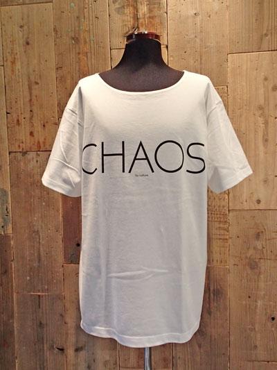 画像1: Chaos Big Tee (WHITE) (1)