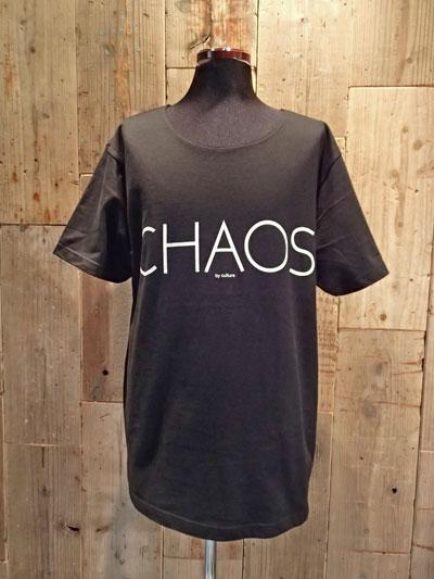 画像1: Chaos Big Tee (BLACK) (1)