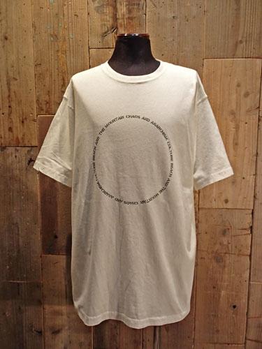 画像1: Circle Big Tee (WHITE) (1)
