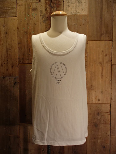 "画像1: ""A"" Big Tank Top #2 (WHITE) (1)"