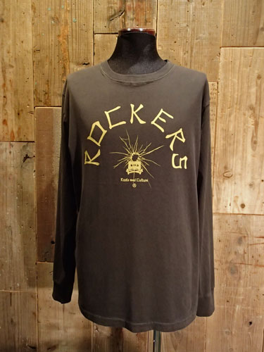 画像1: Rockers Long Sleeve Tee (BLACK) (1)