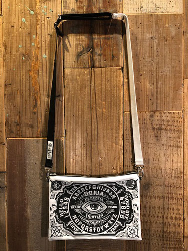 画像1: D-13 OUIJA SHOULDER BAG (1)