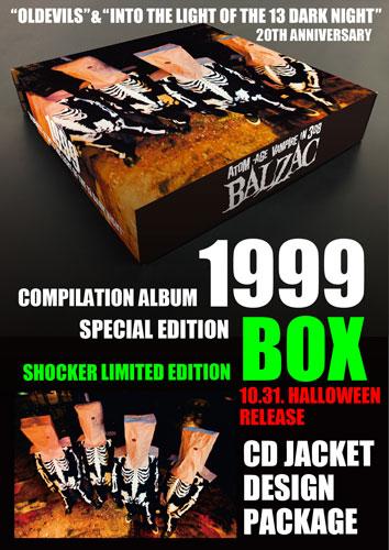 """画像1: 『1999 - """"OLDEVILS"""" & """"INTO THE LIGHT OF THE 13 DARK NIGHT"""" 20TH ANNIVERSARY EDITION』 SPECIAL LIMITED EDITION BOX SET(CD JACKET DESIGN PACKAGE) (1)"""