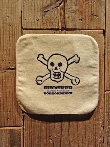 画像1: SHOCKER 19TH ANNIVERSARY HANDKERCHIEF TOWEL (L.YE) (1)